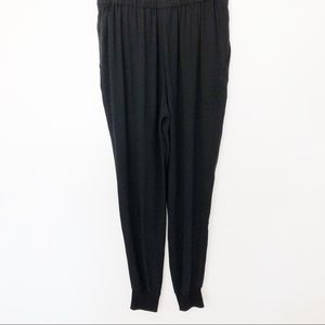 Eileen Fisher Pants - Eileen Fisher Silk Crepe Pull-On Jogger Pants SzS